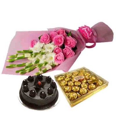 Same Day  Delivery Of Flowers and Cakes to Chennai