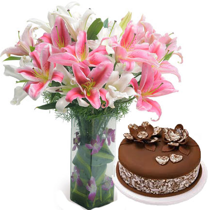 Send Online Flowers And Cakes To Chennai